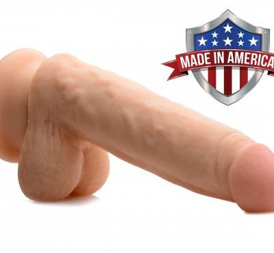 Realistic 6 Inch Dildo Made In America