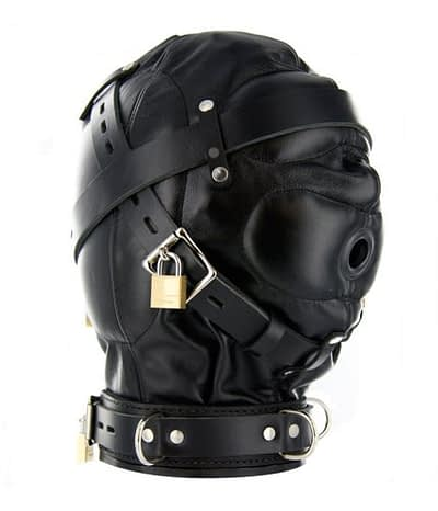 Complete Sensory Deprivation Hood Side View
