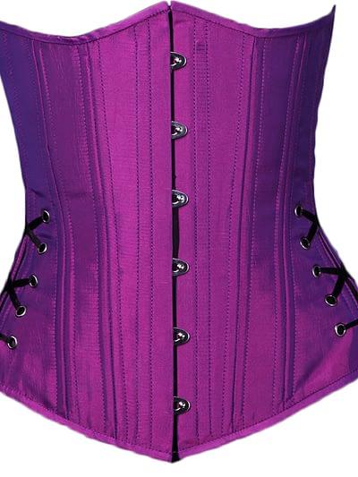 purple devil corset