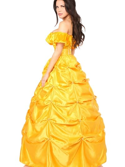 Beauty Princess Corset Costume Back