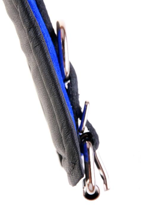 Padded Leather Bondage Cuff Side View