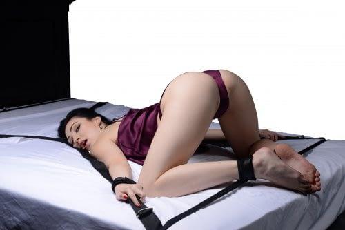Interlace Bed Restraint Set Demo 2
