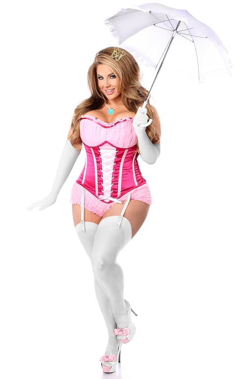 Pink Princess Premium Corset Costume