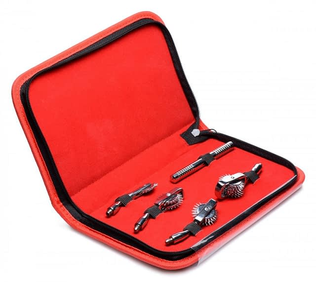Deluxe Wartenberg Wheel Set Travel Kit